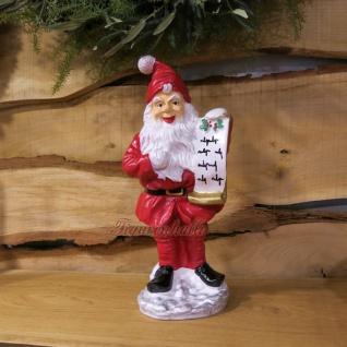 Weihnachtsmann Figur Gartenzwerg Zwerg Wicht Weihnachtlich Deko