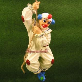 Clown hängend als Figur und Statue Deko Fan Artikel