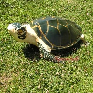 Wasserschildkröte Figur Schildkröte Dekofigur