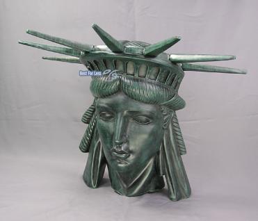Kopf Deko Freiheitsstatue Liberty Figur