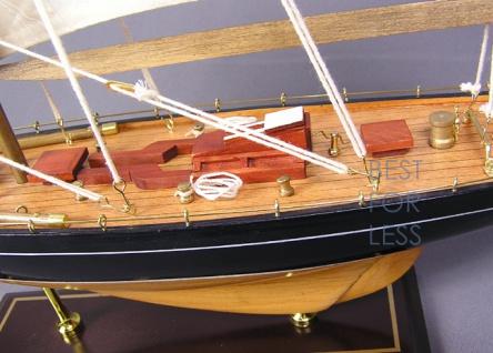 Selgelyacht Schiffsmodell Segelschiffmodel Modell - Vorschau 5