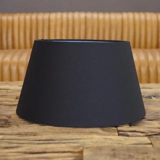 Lampenschirm Schwarz Gold Elegant für Stehlampe Stehleuchte zur Deko
