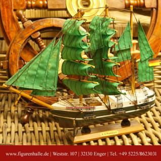 Alexander von Humboldt Segelschiffmodell Modell Holz Schiff - Vorschau 1