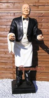 Opa Butler Old Man Figur Statue lebensgroß stummer Diener