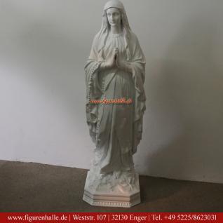 Heilige Mutter weiß Maria Madonna Statue Figur