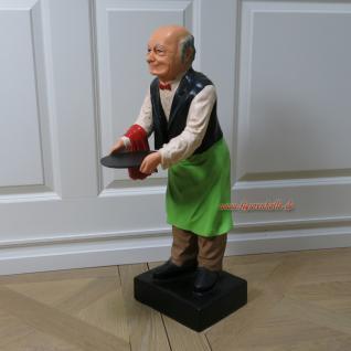 Butler Diener Kellner Dekofigur Deko Figur Opa - Vorschau 1