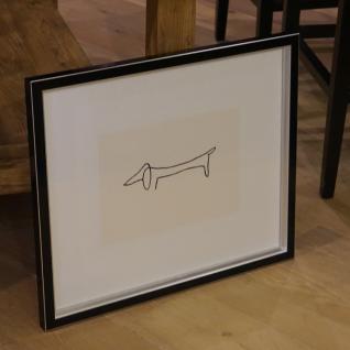 Kunstdruck das Hund Dackel von Pablo Picasso Wandbild Deko