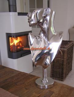 Frau Abstrakte Skulptur Alu Aluminium Deko Impressionen