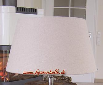 Lampenschirm rund creme beige e27 30cm