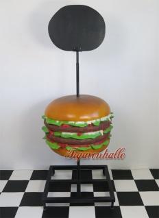 1 Hamburger Werbefigur Aufstellfigur Schausteller