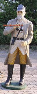 Soldat Kavallarie US Dekofigur in Lebensgroß Figur Statue Deko