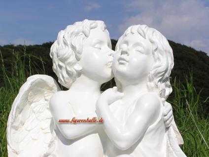 Romantisches Engels Perchen Figur Statue Dekoratio - Vorschau 2