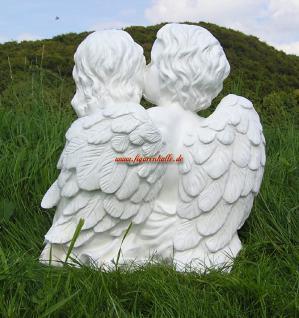 Romantisches Engels Perchen Figur Statue Dekoratio - Vorschau 3