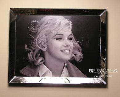 Marilyn Monroe Wandbild Kunstdruck int Rahmen Deko
