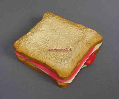 Sandwich Tostbrot belegt Deko Imbiss Werbung Dummy Attrappe Deko