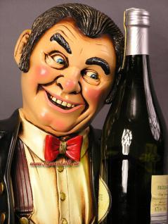 Antik Diner als Flaschenhalter Restaurant Deko Bar Kneipe Weinflasche - Vorschau 4