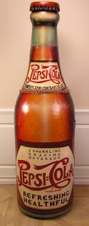 Pepsi Cola Flasche Werbung Schrank Deko Bar Kneipe