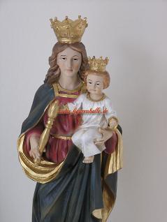 Heilige Mutter Lourdes Madonna mit Krone Maria Statue Skulptur Figur Heiligen mit Kind - Vorschau 3