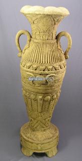 Vase Angkor riesen groß Deko Werbefigur Nostalgie Ägypten Ägyptische