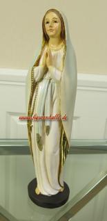 Lourdes Madonna Heiligen Dekofigur Kirchen Statue aus Resin Maria