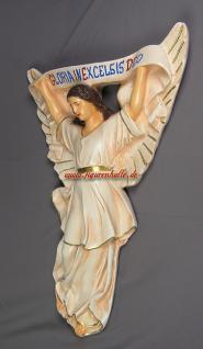 Großer Krippen Engel Weihnachtsengel Statue Figur Aufstellfigur - Vorschau 1