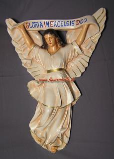 Großer Krippen Engel Weihnachtsengel Statue Figur Aufstellfigur