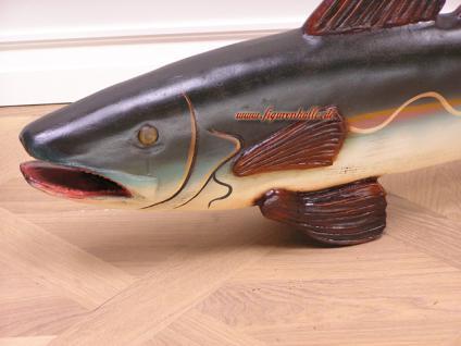Fisch Forelle Werbefigur Dekofigur Angelgeschäft - Vorschau 2