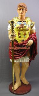 Julius Caesar lebensgroß Deko Statue Skulptur Rom Römer Dekoration