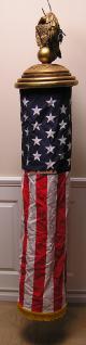 Freihertsstatue Flagge Fahne rundfahne empfangs Deko Usa Amerika Amrekanische Deko