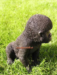 Gorilla Figur als Baby Statue Skulptur Fan Dekoration Artikel - Vorschau 4