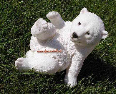 Arktis Eisbär Figur Statue Deko Dekoration