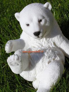 Arktis Eisbär Figur Statue Deko Dekoration - Vorschau 3