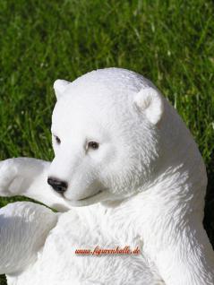 Arktis Eisbär Figur Statue Deko Dekoration - Vorschau 4