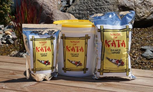 2, 5 ltr Koi Futter Balance Sinking House of Kata Premium Koifutter Fischfutter Winter - Vorschau 3