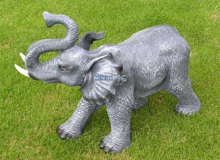 Elefant Figur Statue Dekofigur Werbefigur Afrika - Vorschau 3