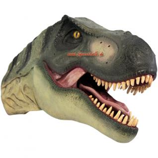 dinosaurier tyrannosaurus rex kopf dekofigur kaufen bei helga freier. Black Bedroom Furniture Sets. Home Design Ideas