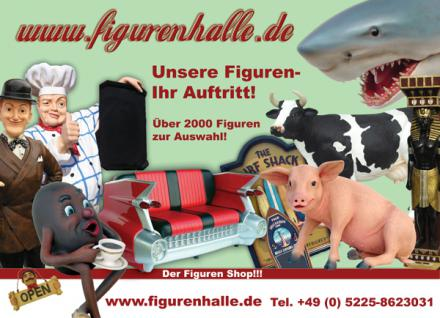 Bäcker Figur als Werbeaufsteller mit Menütafel - Vorschau 4