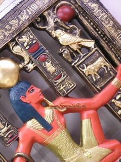 Ägyptisches Wandbild Ägypten Bild Pharaonen Dekoration Deko - Vorschau 2