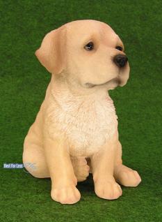 Labrador Retriever Figur Welpe Statue Fan Artikel