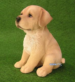 Labrador Retriever Figur Welpe Statue Fan Artikel - Vorschau 2