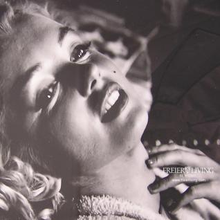 Marilyn Monroe Bild mit schwarzem Rahmen Kunstdruck - Vorschau 2