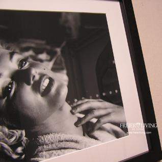 Marilyn Monroe Bild mit schwarzem Rahmen Kunstdruck - Vorschau 5