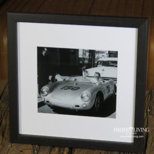 Wandbild James Dean in Porsche 550 Spyder Fotographie