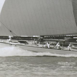 Historische Segelyacht als Maritime Wanddekoration waterwitch yacht 1911 - Vorschau 4