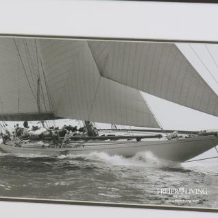 Wandbild Segelyacht Segelschiff Maritime Dekoration für Ihr Zuhause - Vorschau 2