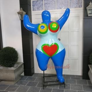 Nana Dekofigur Figur Statue Skulptur Kunst Künstler Art Pop Frau Herz neu