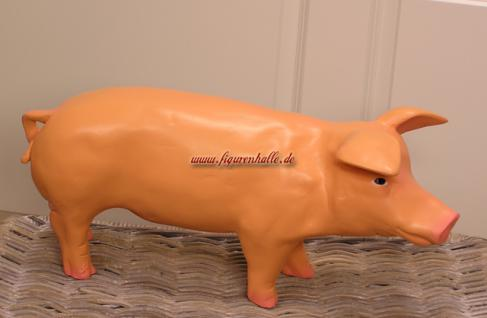Schwein Figur Statue rosa Schweinchen