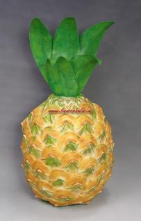 Ananas Deko-Obst Wand Werbefigur Obsttheke Figur