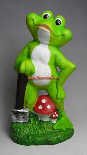 Witziger Frosch als Gartenfigur oder Teichdeko - Vorschau 3
