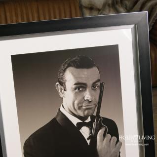 James Bond 007 Jagd Dr. No 1962 Poster in Rahmen Kunstdruck - Vorschau 2